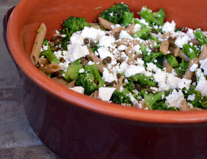 Pasta with Broccoli and Ricotta Salata | labellasorella.com
