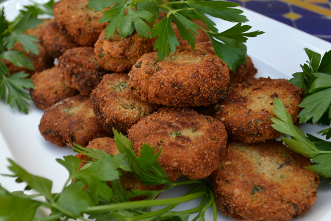 Eggplant Polpette / Eggplant Meatballs, don't they look amazing | labellasorella.com