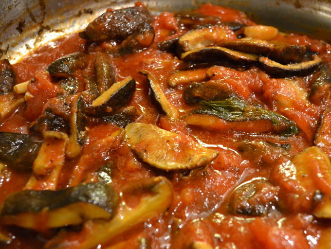 Boscaiola Sauce | labellasorella.com