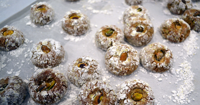 Pistachio Cookies | labellasorella.com