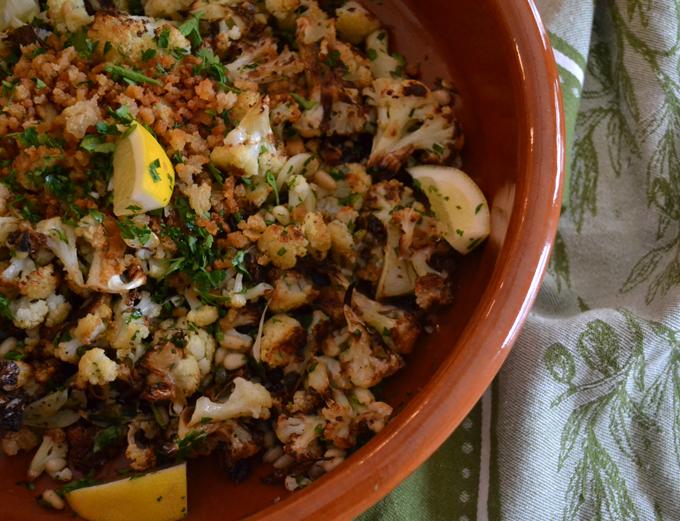 Sicilian Style Cauliflower | labellasorella.com