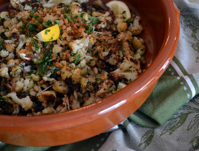 Sicilian Style Cauliflower, a wonderful side or topping for pasta   labellasorella.com