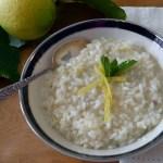 Lemon Risotto – Risotto al Limone