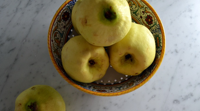Quince, irregular in shape, but so much potential | labellasorella.com