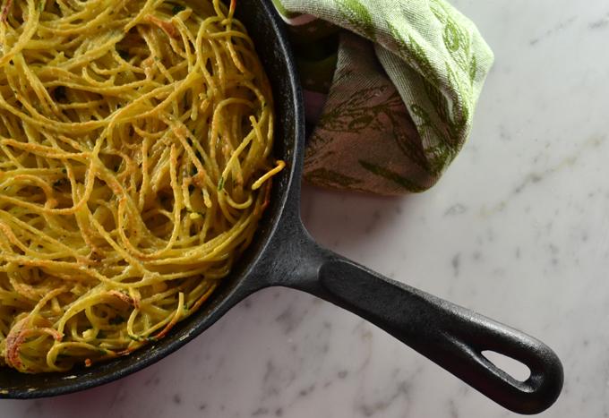 Spaghetti Frittata or Frittata di Spaghetti | labellasorella.com