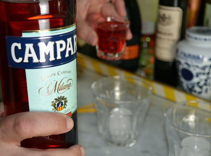 Campari, an essential ingredient | labellasorella.com