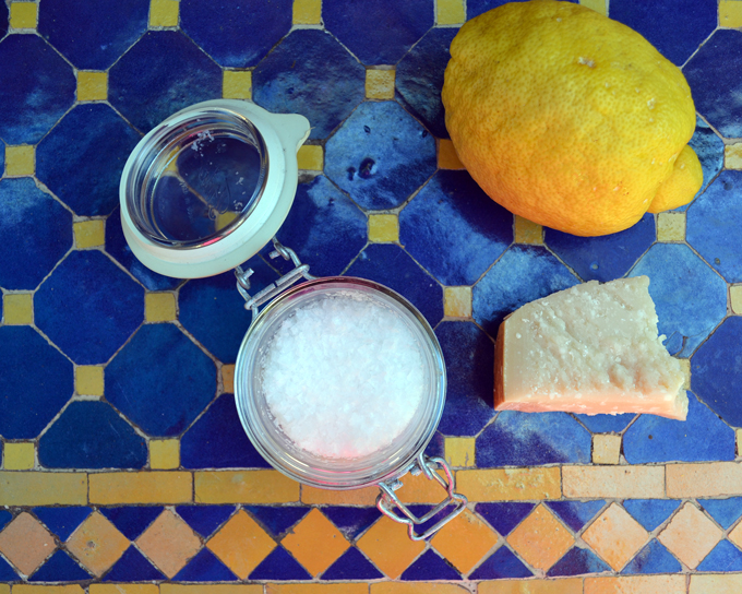 Sea salt, Parmigiano & fresh lemon | labellasorella.com