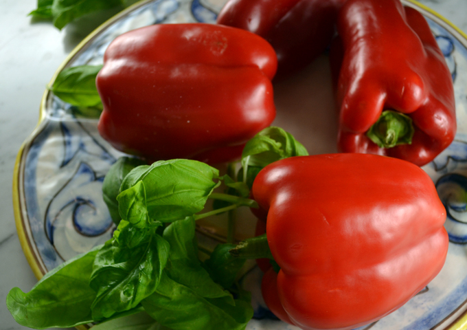 Well selected red peppers | labellasorella.com