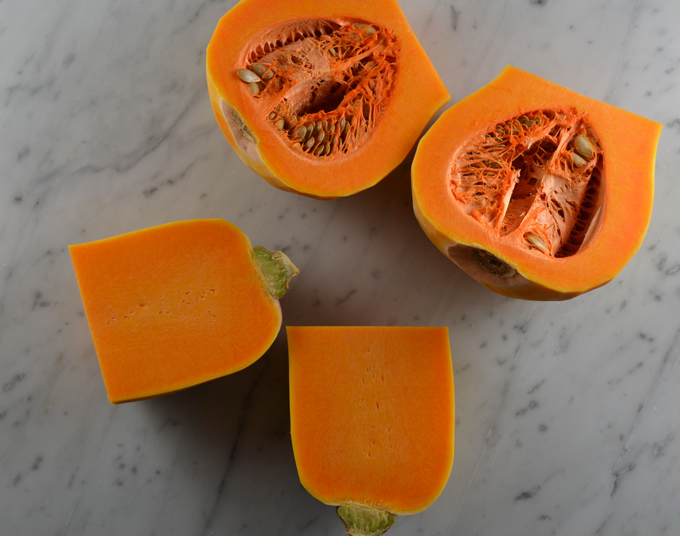 Start with fresh butternut squash | labellasorella.com