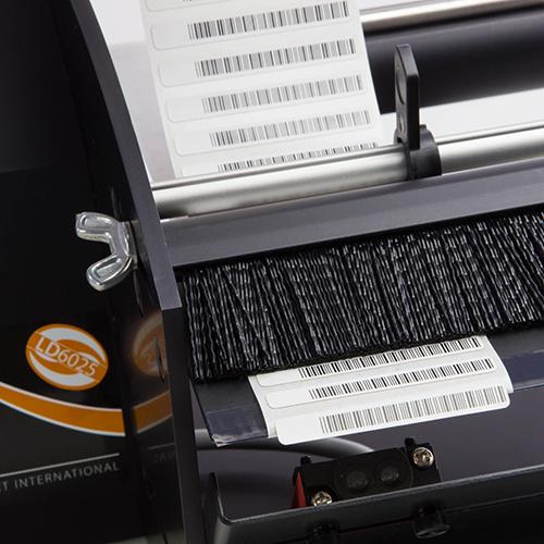 Labelmoto electric label dispensers LD6025-close-up