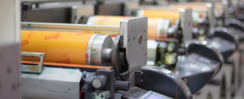 Label Manufacturing Printing Press