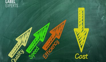 Cost-effectiveness in label printing