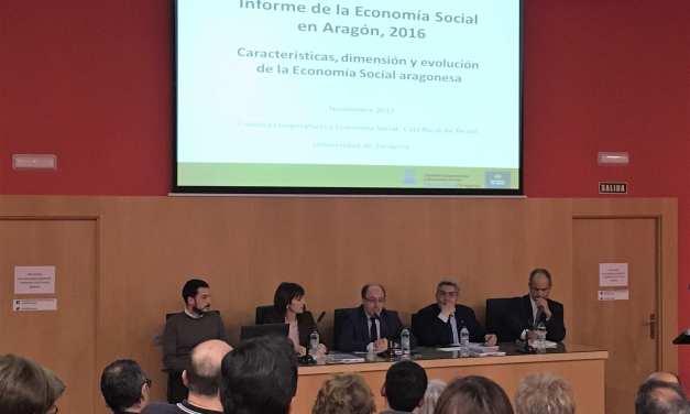 Presentación del Informe de la Economía Social de Aragón 2016 en la Universidad de Zaragoza