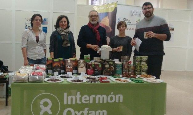 OXFAM Intermón: Miércoles de Comercio Justo en la Facultad de Economía y Empresa