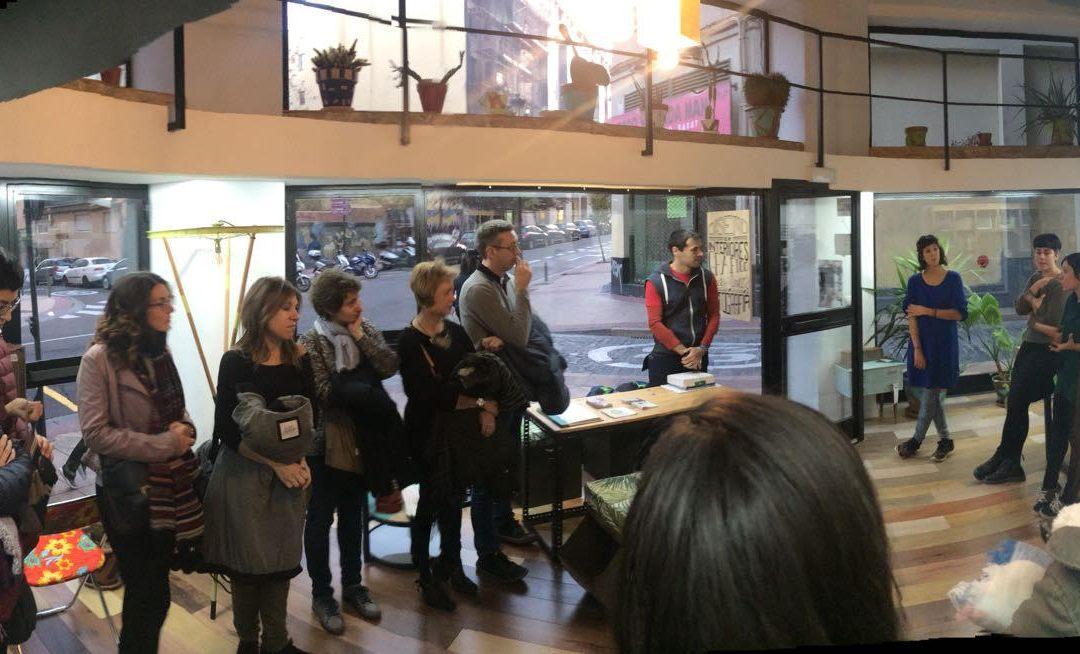 Ruta cooperativa en Zaragoza con los profesores de Economía de Educación Secundaria