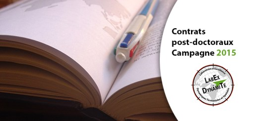 Contrats post-doctoraux - Campagne 2015