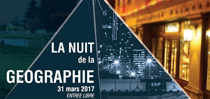 Nuit de la Géographie