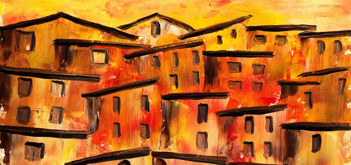 Peinture ville