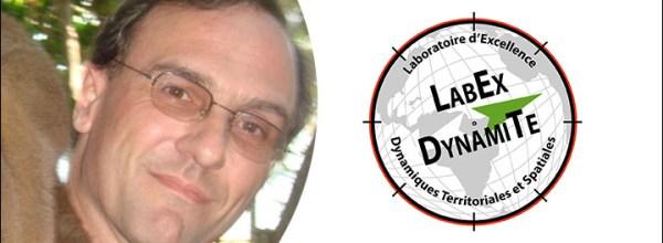 Franck LAVIGNE devient Responsable Scientifique et Technique du LabEx DynamiTe