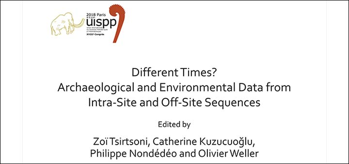 """Different times? Archaeological and environmental data from intra-site and off-site sequences"""
