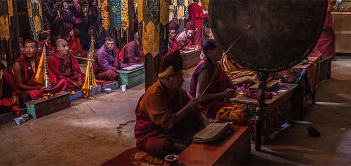 Sani Monastery, Zanskar valley, India