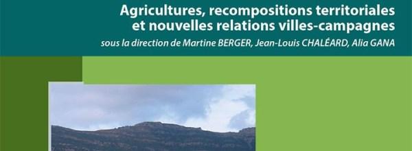 Publication de l'ouvrage «Crise des modèles ? Agricultures, recompositions territoriales et nouvelles relations villes-campagnes»