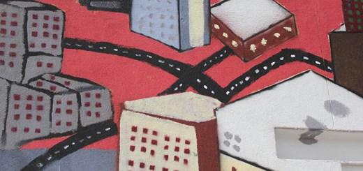 Dessin d'une ville