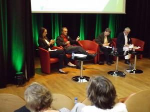 19 - Elisabeth PEYROUX, Eric HUYBRECHTS, Isabelle MILBERT, Michel LESOURD (Table ronde DÉVELOPPEMENT)