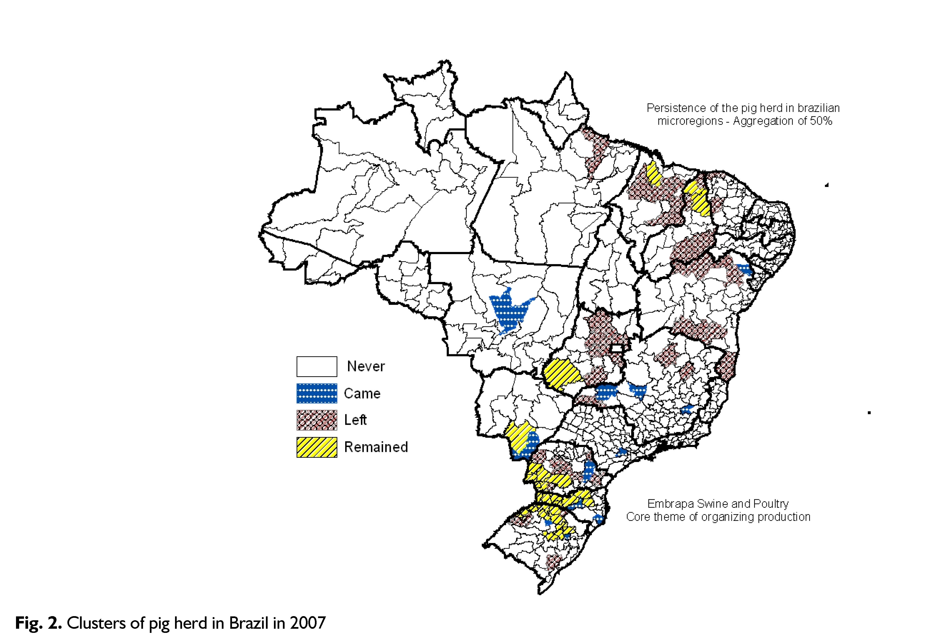 The New Face Of Brazilian Pig Production Geographical