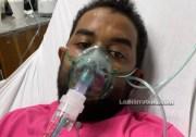 Alex Villegas, afectado de cáncer de pulmón