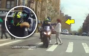 La policía despachó vídeos y fotos de los delincuentes cometiendo el hecho