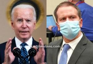 Joe Biden y Derek Chauvin