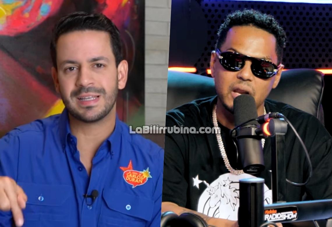 Carlos Durán y Santiago Matías (Alofoke)