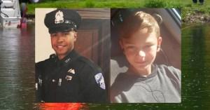 Emmanuel Familia (Manny), y el niño Troy Love