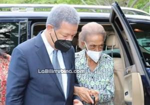 Yolanda Reyna Romero, madre de Leonel Fernández