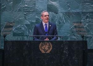 Luis Abinader en la ONU