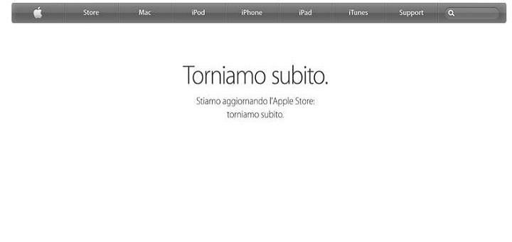 Apple Store offline: in attesa dell'arrivo dei nuovi iPad