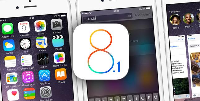 Apple chiude le firme di iOS 8.1: adesso non è più possibile effettuare il downgrade