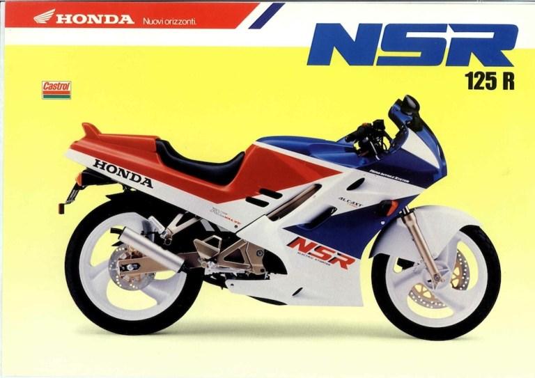 Amarcord, pillole motociclistiche – Honda NSR 125 f/r