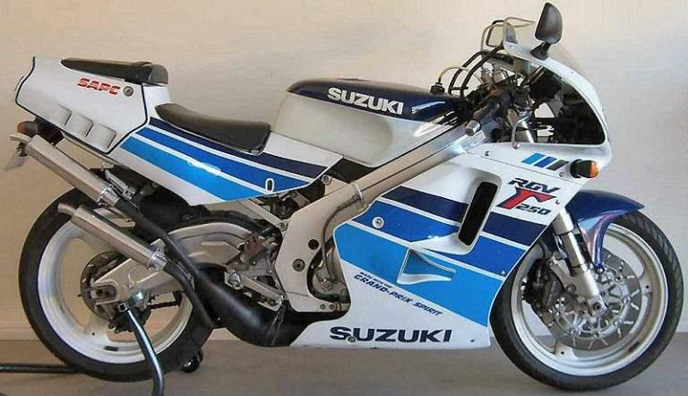 Amarcord, pillole motociclistiche – Suzuki RGV 250 Gamma