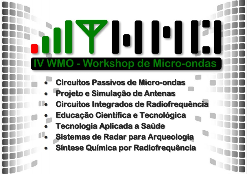 IV WMO - Workshop de Micro-ondas do #Labmax