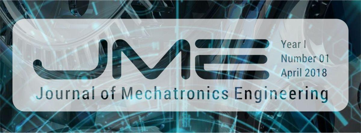 Chamada de trabalhos- 1ª edição do Journal of Mechatronics Engineering