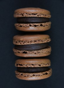 Macaron Schokolade | Passionsfrucht