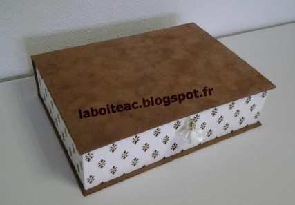 Boite livre à compartiments 4-Nadine B