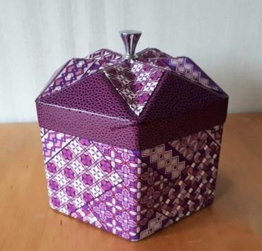 Boite Origami revisitée 6-PC