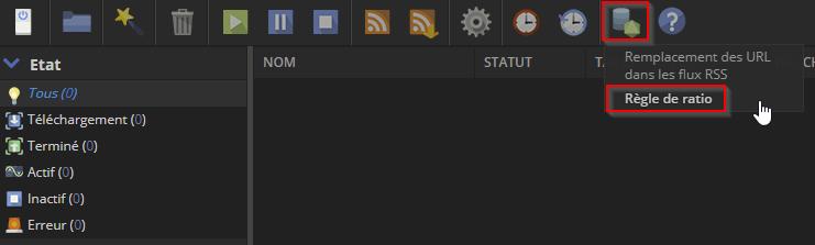 ruTorrent Plugins Menu