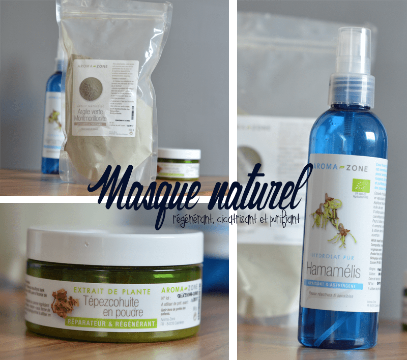 masque naturel argile