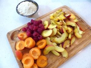 la tarte campagnarde aux fruits