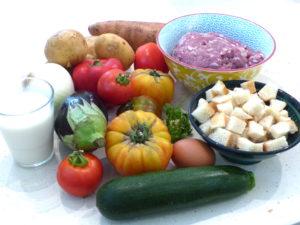 le choix des légumes farcis