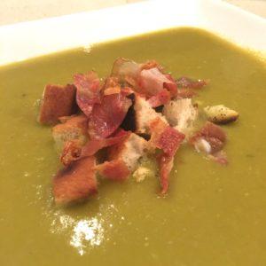 la soupe aux pois cassés